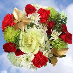 Christmas Bouquets Reindeer 6 Arrangements