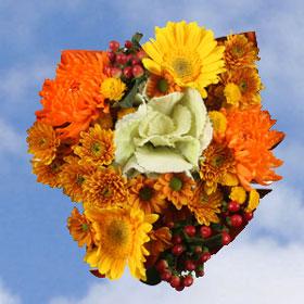 Arrangement Indian Summer 8 Bouquets