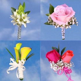 Boutonnieres And Corsages 16 Pieces