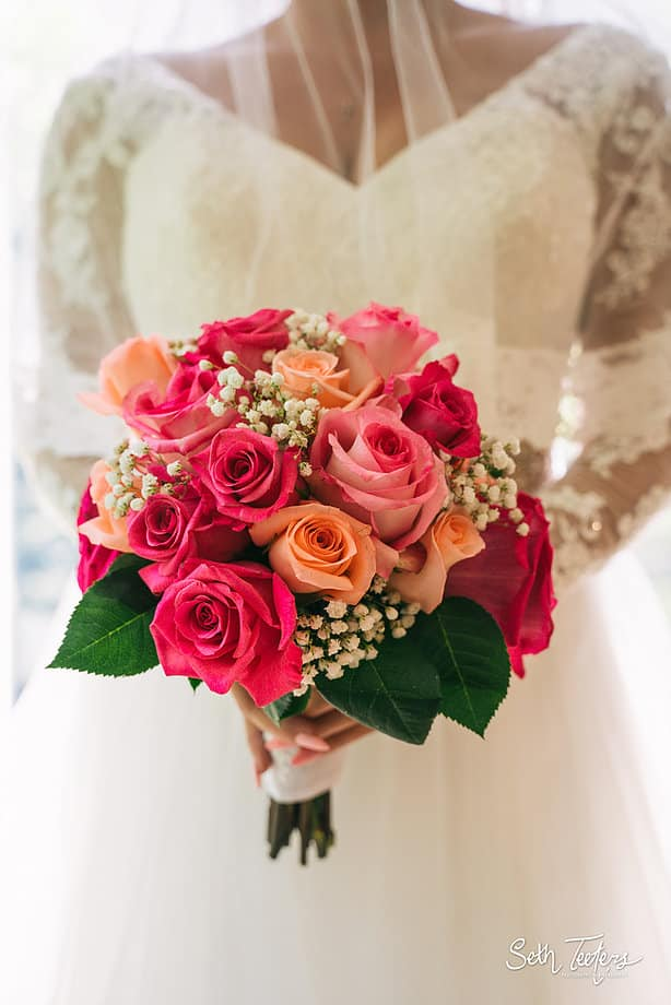 so, what does the flowers guy have to say about bridal bouquets?
