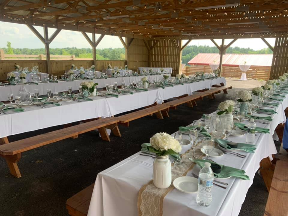 the tried & true about ceremony & reception wedding flowers