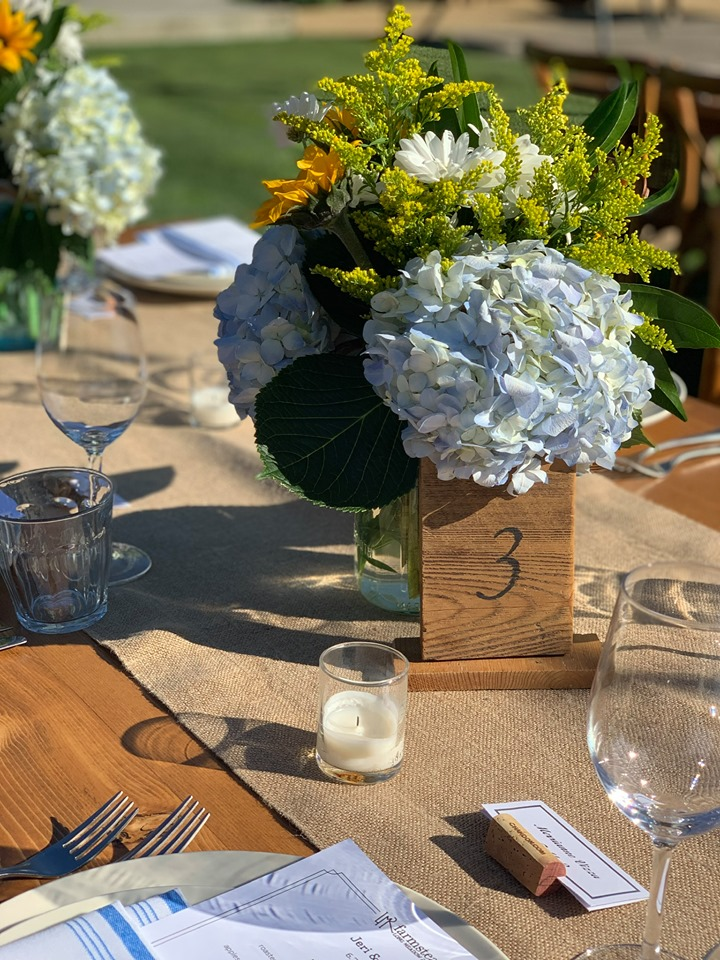 the tried & true about wedding flowers
